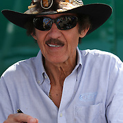 Former NASCAR driver and legend Richard Petty at Daytona International Speedway on February 18, 2011 in Daytona Beach, Florida. (AP Photo/Alex Menendez)