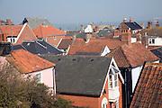 Rooftops, Aldeburgh, Suffolk, England
