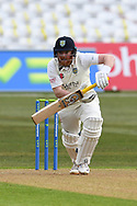 Stuart Poynter of Durham during the LV= Insurance County Championship match between Nottinghamshire County Cricket Club and Durham County Cricket Club at Trent Bridge, Nottingham, United Kingdom on 8 April 2021.