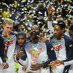 20140914: ESP, Basketball - Final of 2014 FIBA World Championship, USA vs Serbia