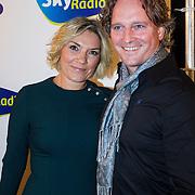NLD/Hilversum/20130925 -  Sky Radio 25 Year Anniversary Concert, Gallyon van Vessem en partner Greg de Jong