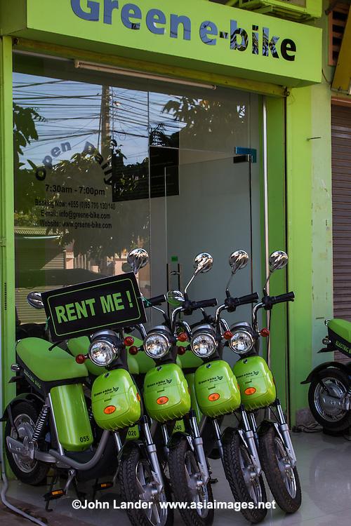 Electric Green Bikes