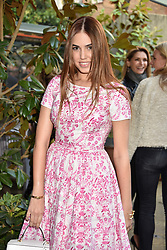 Amber Le Bon at The Ivy Chelsea Garden's Annual Summer Garden Party, The Ivy Chelsea Garden, 197 King's Road, London England. 9 May 2017.<br /> Photo by Dominic O'Neill/SilverHub 0203 174 1069 sales@silverhubmedia.com