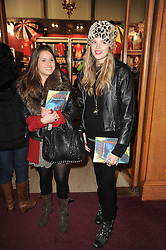Left to right, KATE WINSER and GABRIELLA ANSTRUTHER-GOUGH-CALTHORPE at the gala opening night of Cirque du Soleil's Varekai at the Royal Albert Hall, London on 5th January 2010.