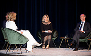 UDEN, 27-09-2021,  Theater Markant <br /> <br /> Koningin Maxima neemt deel aan een gesprek over ondernemerschap bij de vierde Koning Willem I Lezing. Dit vindt plaats in Theater Markant in Uden en markeert de start van de inschrijving voor de tweejaarlijkse ondernemingsprijzen van de Koning Willem I Stichting (KW-I). FOTO: Brunopress/Patrick van Emst<br /> <br /> Queen Maxima takes part in a conversation about entrepreneurship at the fourth King Willem I Lecture. This will take place in Theater Markant in Uden and marks the start of registration for the biennial company awards of the Koning Willem I Foundation (KW-I).