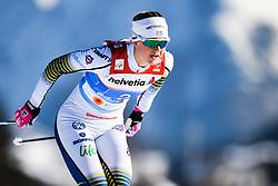 February 24, 2019 - Seefeld In Tirol, AUSTRIA - 190224 Maja Dahlqvist of Sweden competes in womenÃ•s team sprint semi final during the FIS Nordic World Ski Championships on February 24, 2019 in Seefeld in Tirol..Photo: Vegard Wivestad GrÂ¿tt / BILDBYRN / kod VG / 170295 (Credit Image: © Vegard Wivestad Gr¯Tt/Bildbyran via ZUMA Press)