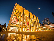 Lincoln Center for the Performing Arts and Revson Fountain in Manhattan, New York City.