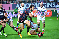 Yoann HUGET / Rabah SLIMANI - 24.04.2015 - Stade Francais / Stade Toulousain - 23eme journee de Top 14<br />