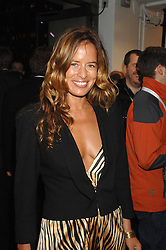 JADE JAGGER at a party to celebrate the launch of the new Fiat 500 car held at the London Eye, Westminster Bridge Road, London on 21st January 2008.<br /><br />NON EXCLUSIVE - WORLD RIGHTS (EMBARGOED FOR PUBLICATION IN UK MAGAZINES UNTIL 1 MONTH AFTER CREATE DATE AND TIME) www.donfeatures.com  +44 (0) 7092 235465