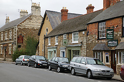 Centre street in Oakham; County town in ancient Rutland twinned with Barnstedt,