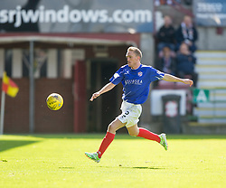 Cowdenbeath's Dean Brett. <br /> Dunfermline 5 v 1 Cowdenbeath, Scottish League Cup game played today at East End Park.