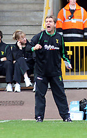 Photo: Mark Stephenson.<br /> Wolverhampton Wanderers v Norwich City. Coca Cola Championship. 22/09/2007.Norwich's manager Peter Grant