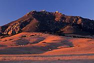 Bishop Peak at sunset, San Luis Obispo, CALIFORNIA