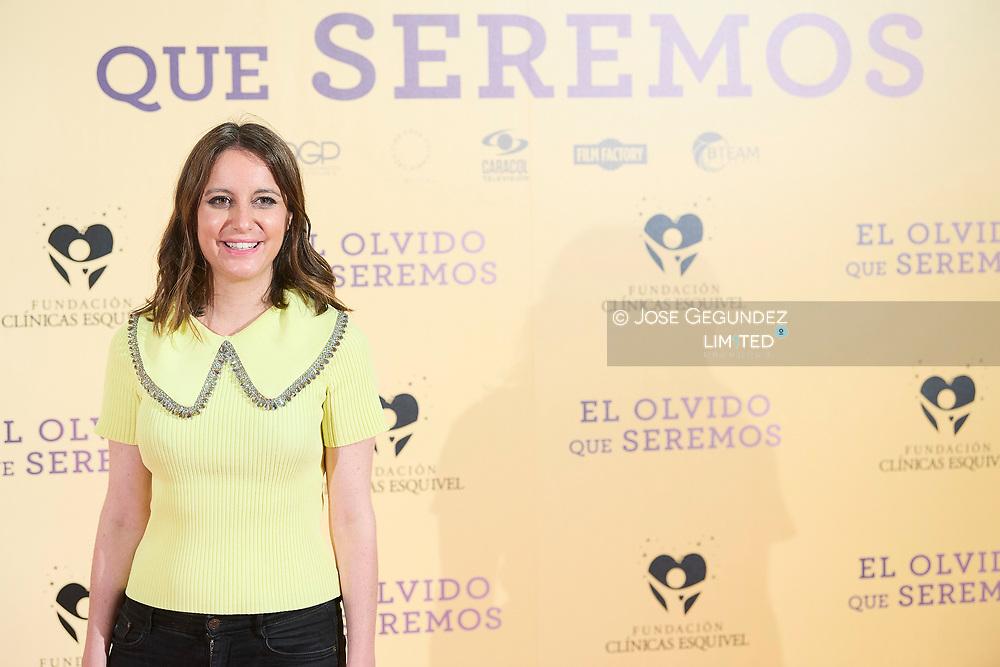 Andrea Levy attends 'El Olvido que seremos' Premiere at Paz Cinema on May 5, 2021 in Madrid, Spain
