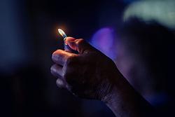 21.06.2019, Baumbar Areal, Kaprun, AUT, Austropop Festival, im Bild eine Hand mit einem Feuerzeug // a hand with a lighter during the Austropop Music Festival in Kaprun, Austria on 2019/06/21. EXPA Pictures © 2019, PhotoCredit: EXPA/Stefanie Oberhauser