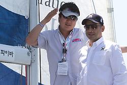 Dong Young Kim and Patrick Lim during the Pro-Am race at Korea Match Cup 2010.   Korea Match Cup, Gyeonggi, Korea. 8 June 2010.