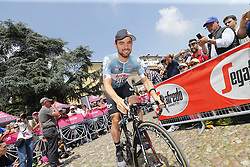 May 18, 2018 - Nervesa Della Battaglia, ITALY - Belgian Victor Campenaerts of Lotto Soudal pictured at stage 13 of the 101st edition of the Giro D'Italia cycling tour, 180km from  Ferrara to Nervesa della Battaglia, Italy, Friday 18 May 2018...BELGA PHOTO YUZURU SUNADA FRANCE OUT (Credit Image: © Yuzuru Sunada/Belga via ZUMA Press)