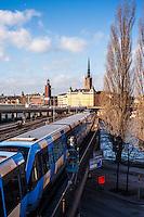 Stockholm subway tunnelbana - Street scenes from Stockholm