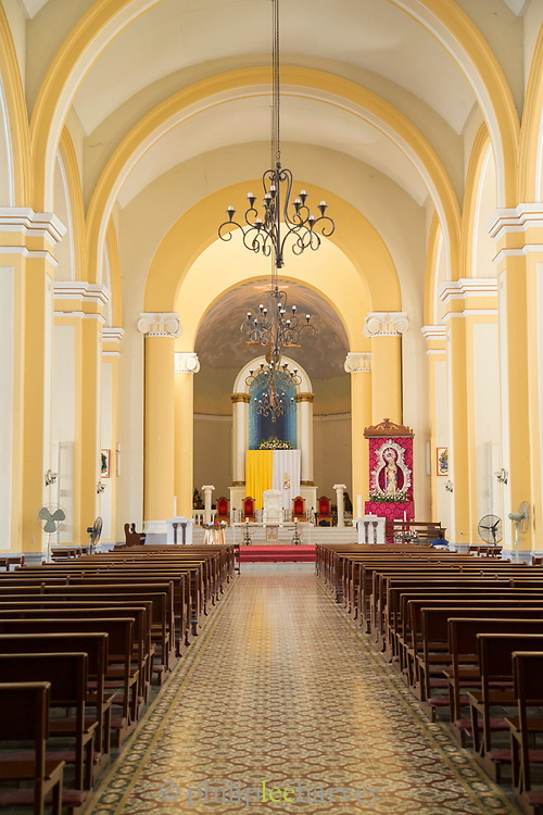 View inside of the Granada Cathedral also known as Our Lady of the Assumption Cathedral, Granada, Nicaragua