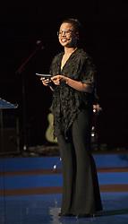 May 29, 2017 - Stockholm, Sweden - Alice Bah Kuhnke, Swedish Minister of Culture and Democracy..Attendance at the presentation of the ALMA prize, (Astrid Lindgren Memorial Award), Stockholm Concdert Hall, 2017-05-29..(c) Johan Jeppsson / IBL..XPBE (Credit Image: © Johan Jeppsson/IBL via ZUMA Press)