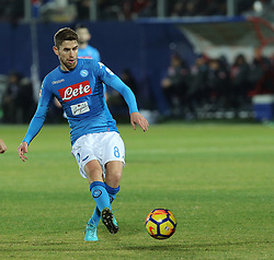 December 29, 2017 - Crotone, KR, Italy - JORGINHO of SSC Napoli   during the serie A match between FC Crotone and SSC Napoli at Stadio Comunale Ezio Scida on December 29, 2017 in Crotone, Italy. (Credit Image: © Gabriele Maricchiolo/NurPhoto via ZUMA Press)
