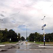 Kruising Randweg - Gooilandweg Huizen word verbouwd voor een rotonde