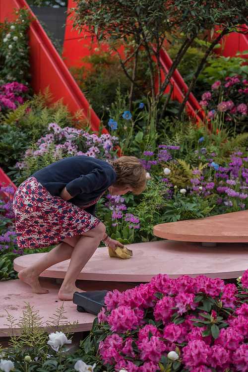 The Silk Road, Chengdu Garden - The Chelsea Flower Show organised by the Royal Horticultural Society with M&G as its MAIN sponsor for the final year.