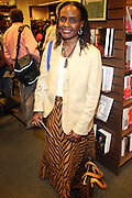 """Brenda Green at the reading of ' Letters from Black America """" A Dramatic Reading with Editor Pamela Newkirk and actors Ruby Dee and Anthony Chisholm held at Barnes & Noble at 82nd Street on July 15, 2009 in New York City"""