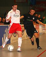 v.l. Jørgen Magnussen, Roman Prokoph Pauli<br /> Salzbrenner Cup 2007 FC St. Pauli II - Fredrikstad FK DIGITALSPORT / NORWAY ONLY