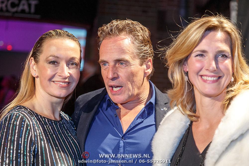 NLD/Amsterdam/20151001 - 25 Jaar Goede Tijden Slechte Tijden, Cynthia Abma, Joep Sertons en Elvira Out