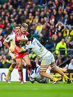 Drew MITCHELL / Julien BONNAIRE - 02.05.2015 - Clermont / Toulon - Finale European Champions Cup -Twickenham<br />