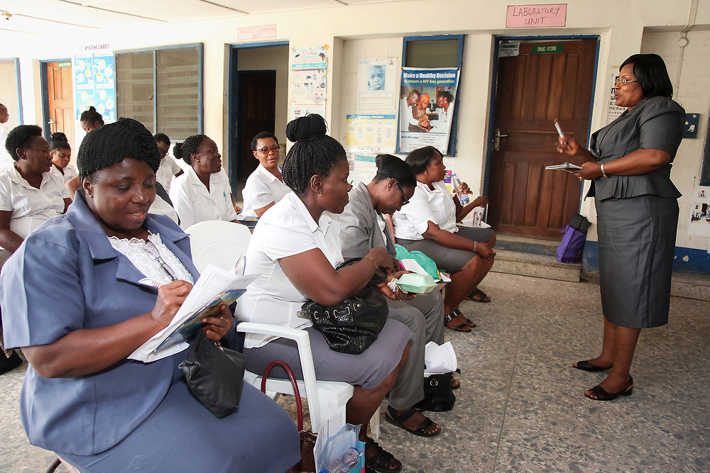 INDIVIDUAL(S) PHOTOGRAPHED: N/A. LOCATION: Family Health Clinic, Moor Road, Calabar, Cross River, Nigeria. CAPTION: The Family Health Clinic provides quality courses to health staff in Calabar, in the Nigerian state of Cross River.