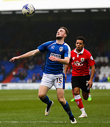 Oldham Athletic's Carl Winchester controls the ball - Photo mandatory by-line: Matt McNulty/JMP - Mobile: 07966 386802 - 03/04/2015 - SPORT - Football - Oldham - Boundary Park - Oldham Athletic v Bristol City - Sky Bet League One