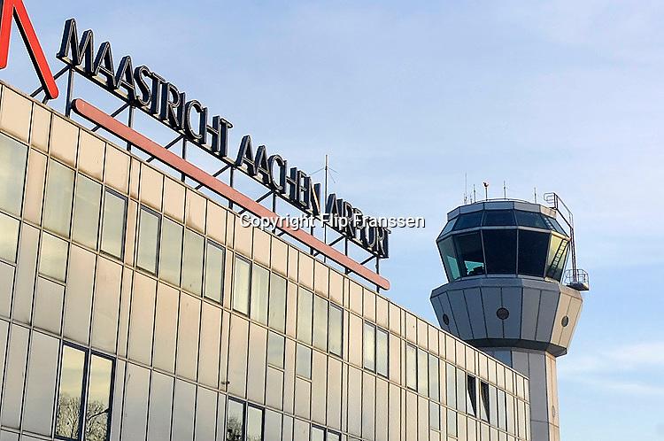 Nederland, Beek, 27-3-2016Vliegveld Maastricht-Aken in Zuid-Limburg.Foto: Flip Franssen