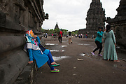 Prambanan or Rara Jonggrang is a 9th-century Hindu temple compound in Central Java, Indonesia, dedicated to the Trimurti, the expression of God as the Creator, the Preserver and the Destroyer