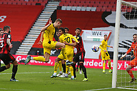 Football - 2020 / 2021 Sky Bet Championship - AFC Bournemouth vs. Barnsley - The Vitality Stadium<br /> <br /> Michal Helik of Barnsley pounces at the back post to open the scoring at the Vitality Stadium (Dean Court) Bournemouth <br /> <br /> COLORSPORT/SHAUN BOGGUST
