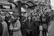Womens March, The Bread & Roses women's rally, Oxford Circus, 19 January 2019