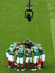 June 17, 2018 - Moscow, Russia - June 17, 2018, Russia, Moscow, FIFA World Cup, First round, Group F, Germany vs Mexico at the Luzhniki stadium. Players of the national team Mexico (Credit Image: © Russian Look via ZUMA Wire)