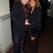 Kerstborrel Princess 2004, Justine Pelmelay en vriend