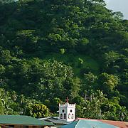 Downtown Pago Pago, Tutuila Island, American Samoa.