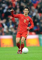 England U21/Portugal U21 European Under 21 Championship 14.11.09 <br /> Photo: Tim Parker Fotosports International<br /> Castro Portugal Under 21's 2009/10