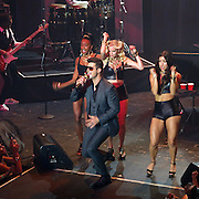 MTV and Time Warner Cable presented a free pre-VMA concert headlined by Robin Thicke which benefited Lifebeat - Music Fights HIV/AIDS. Over 2,000 guests were treated to surprise performance by Macklemore and Ryan Lewis.<br /><br />Pictured: Robin Thicke<br />Ref: SPL599245  230813  <br />Picture by: CelebrityVibe / Splash News<br /><br />Splash News and Pictures<br />Los Angeles:310-821-2666<br />New York:212-619-2666<br />London:870-934-2666<br />photodesk@splashnews.com