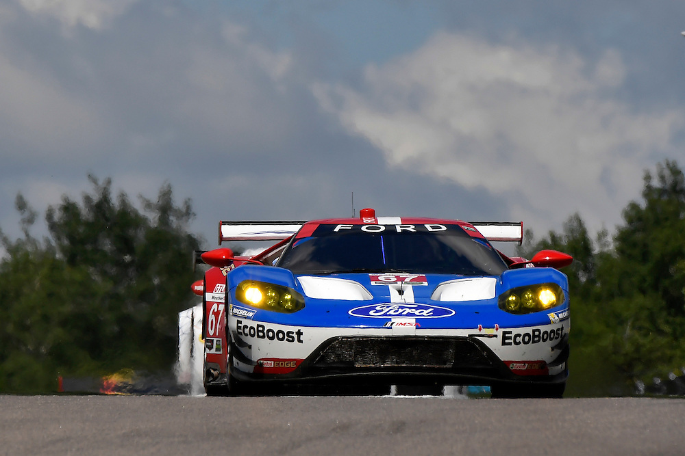 7-10 July 2016, Bowmanville, Ontario Canada<br /> 67, Ford GT, GT, GTLM, Ryan Briscoe, Richard Westbrook<br /> ©2016, Scott R LePage <br /> LAT Photo USA