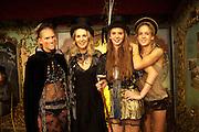 ANNA BOGLIONE; GAEL BOGLIONE; RUBY BOGLIONE; LARA BOGLIONE,  18th birthday party for Ruby Boglione. Petersham House. London. 4 September 2010. -DO NOT ARCHIVE-© Copyright Photograph by Dafydd Jones. 248 Clapham Rd. London SW9 0PZ. Tel 0207 820 0771. www.dafjones.com.