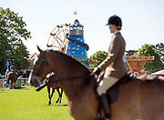 © Licensed to London News Pictures. 14/05/2014. Windsor, UK The opening day of The Royal Windsor Horse Show, set in the grounds of Windsor Castle. Established in 1943. Photo credit : Stephen Simpson/LNP