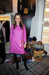 MARIA HATZISTEFANIS at the Juicy Couture children's tea party in aid of Mothers 4 Children held at the Juicy Couture Store, Bruton Street, London on2nd December 2009.