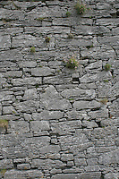 Stone wall on Inis Oirr the Aran Islands Galway Ireland