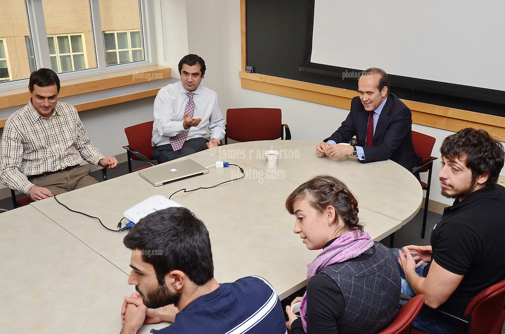 Meeting with Turkish Students at the Yale Medical School during Turkish Ambassador to the United States, His Excellency Namik Tan visit to Yale University | 6 December 2012