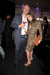 WILLIAM CASH and his wife VANESSA at a party to celebrate the new Stephen Webster store on Mount Street, London W1 followed by a dinner at Maddox, Mill Street, London on 24th June 2009.