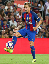 August 10, 2016 - Barcelona, Catalonia, Spain - Ivan Rakitic during the match corresponding to the Joan Gamper Trophy, played at the Camp Nou stadiium, on august 10, 2016. (Credit Image: © Joan Valls/NurPhoto via ZUMA Press)